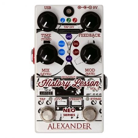 Alexander History Lesson MK3 Delay