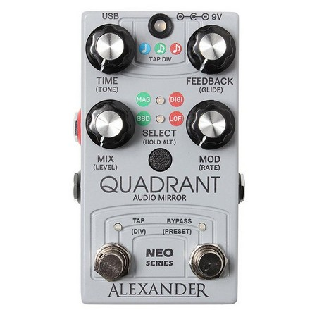 Alexander Quadrant Audio Mirror Delay