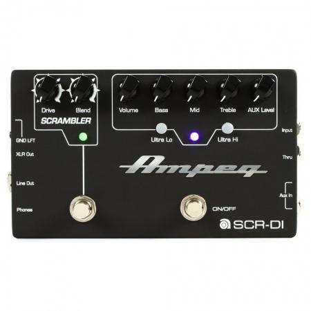 Ampeg SCR-DI Bass DI Preamp/Scrambler Overdrive