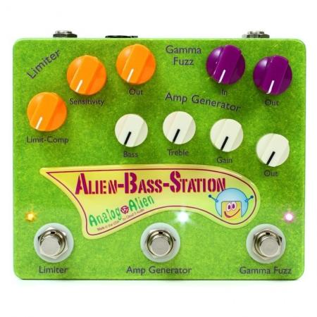 Analog Alien ABC Alien Bass Station Compressor/Fuzz