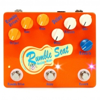 Analog Alien Rumble Seat Overdrive/Delay/Reverb