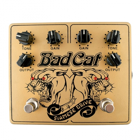 Bad Cat Siamese Drive Dual Overdrive