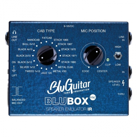 BluGuitar BluBOX Impulse Response Speaker Emulator