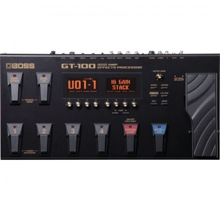 Boss GT-100 Guitar Multi-Effects Processor