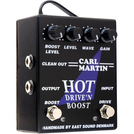 Carl Martin Hot Drive'n Boost Overdrive
