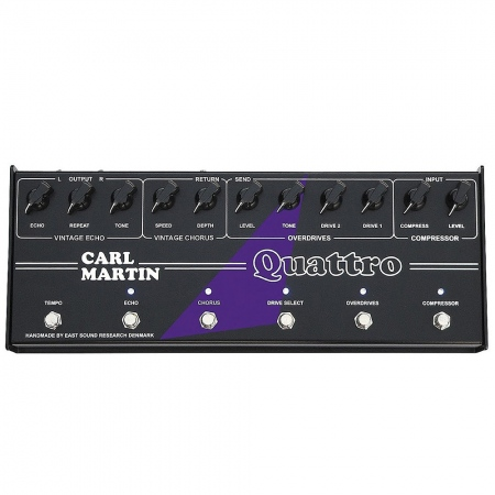 Carl Martin Quattro Multi-Effects Processor