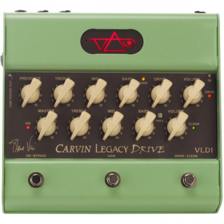 Carvin VLD1 Vai Legacy Drive Preamp