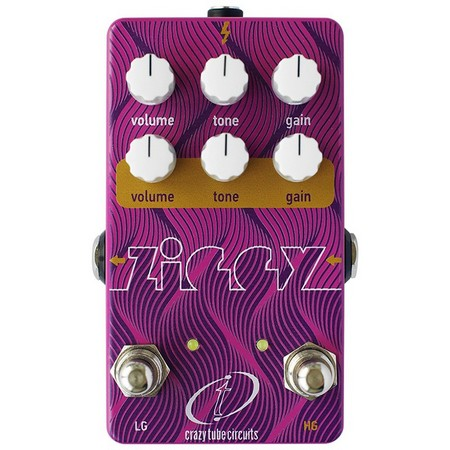 Crazy Tube Circuits Ziggy V2 Dual Overdrive/Distortion
