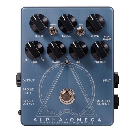 Darkglass Alpha Omega Bass Preamp/Overdrive