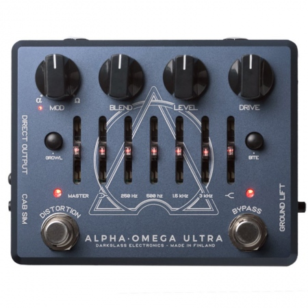 Darkglass Alpha Omega Ultra Bass Preamp/Overdrive