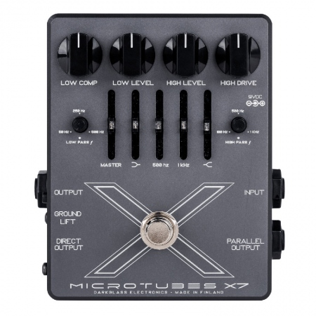 Darkglass Microtubes X7 Bass Overdrive