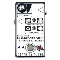 Death By Audio Micro Harmonic Transformer Fuzz