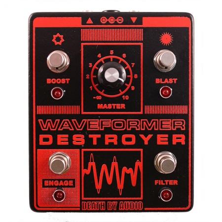 Death By Audio Waveform Destroyer Fuzz