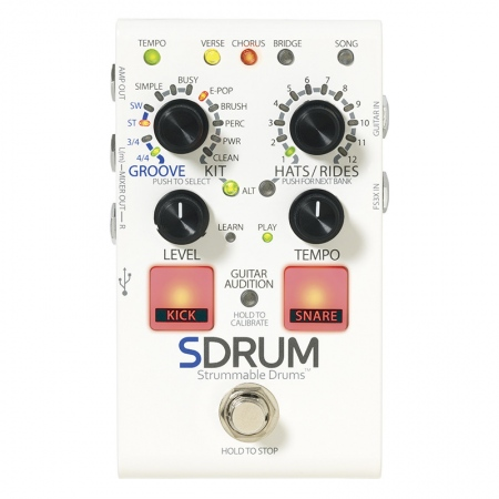 DigiTech SDRUM Strummable Drums Auto-Drummer