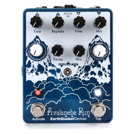 EarthQuaker Devices Avalanche Run Delay/Reverb