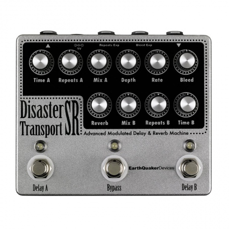 EarthQuaker Devices Disaster Transport SR Advanced Modulated Delay/Reverb
