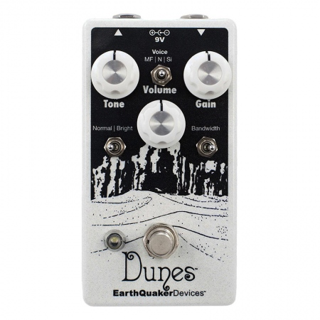 EarthQuaker Devices Dunes V2 Mini Mega Ultimate Overdrive