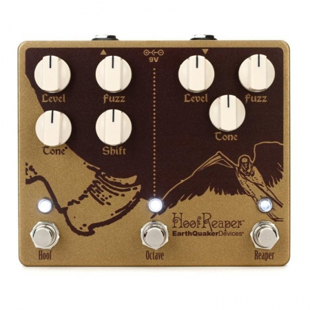 EarthQuaker Devices Hoof Reaper V2 Dual Fuzz/Octave
