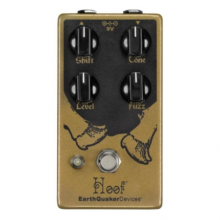 EarthQuaker Devices Hoof V2 Germanium/Silicon Hybrid Fuzz