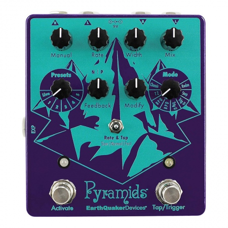 EarthQuaker Devices Pyramids Stereo Flange
