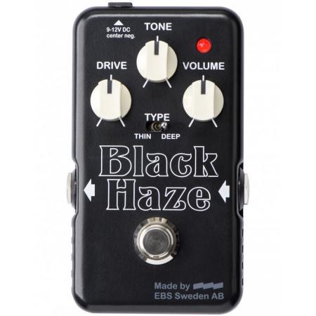 EBS Black Haze Distortion/Overdrive