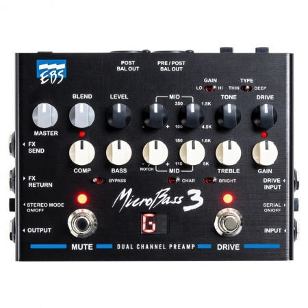 EBS MicroBass 3 Preamp