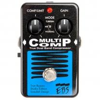 EBS MultiComp True Dual Band Bass Compressor Studio Edition