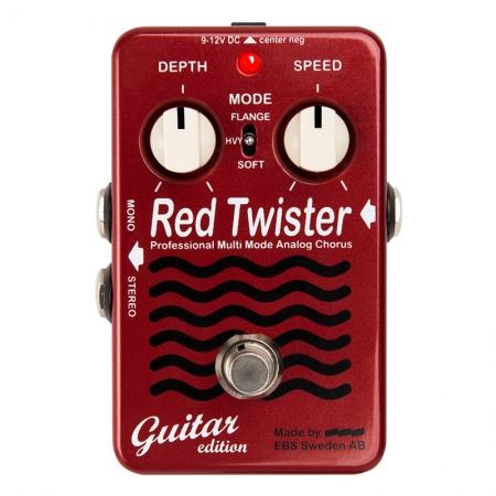 EBS Red Twister Professional Multi Mode Analog Chorus Guitar Edition