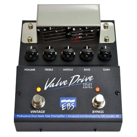 EBS ValveDrive DI Bass Preamp/Overdrive
