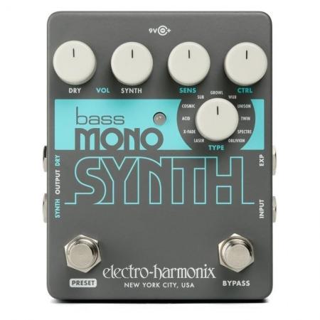 Electro-Harmonix Bass Mono Synth Synthesizer