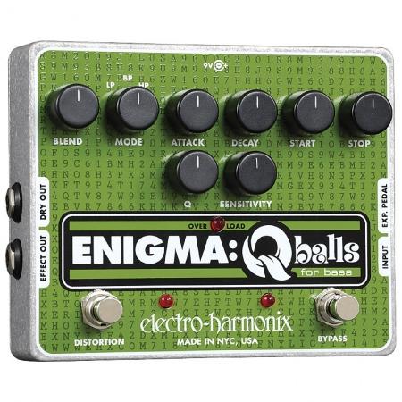 Electro-Harmonix Enigma: Q-Balls Bass Envelope Filter