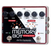 Electro-Harmonix Memory Boy Deluxe Analog Delay With Tap Tempo