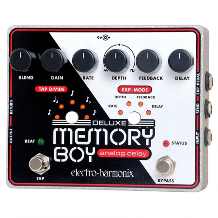 Electro-Harmonix Memory Boy Deluxe Analog Delay With Tap Tempo