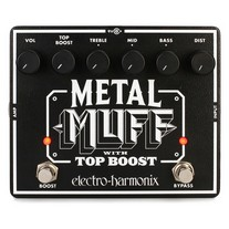 Electro-Harmonix Metal Muff with Top Boost Distortion