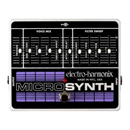 Electro-Harmonix Micro Synthesizer Analog Guitar Microsynth