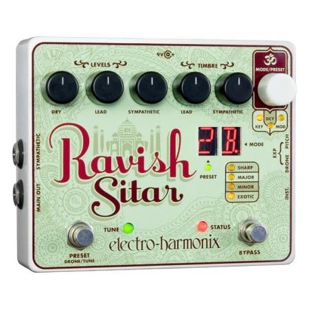 Electro-Harmonix Ravish Sitar Emulation
