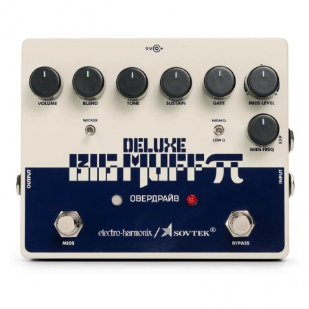 Electro-Harmonix Sovtek Deluxe Big Muff Pi Fuzz