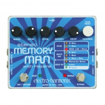 Electro-Harmonix Stereo Memory Man with Hazarai Digital Delay/Looper
