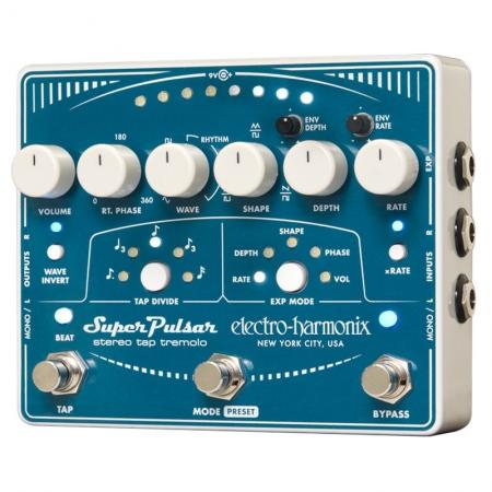 Electro-Harmonix Super Pulsar Stereo Tap Tremolo