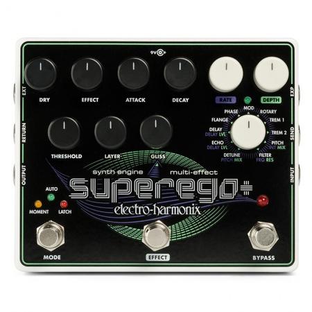 Electro-Harmonix Superego+ Plus Synth Engine/Multi-Effect