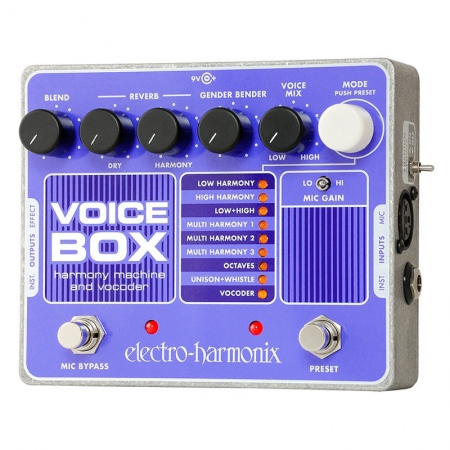 Electro-Harmonix Voice Box Vocal Harmony Machine/Vocoder