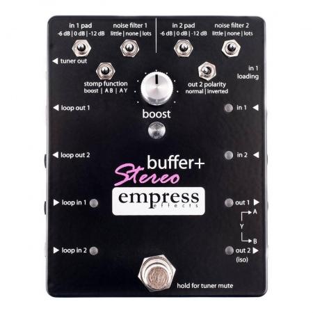 Empress Effects Buffer+ Plus Stereo