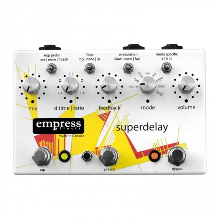 Empress Effects Superdelay Digital Delay