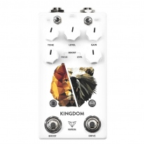 Foxpedal Kingdom Combo V2 Transparent Overdrive