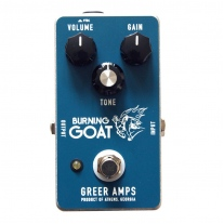 Greer Amps Burning Goat Overdrive