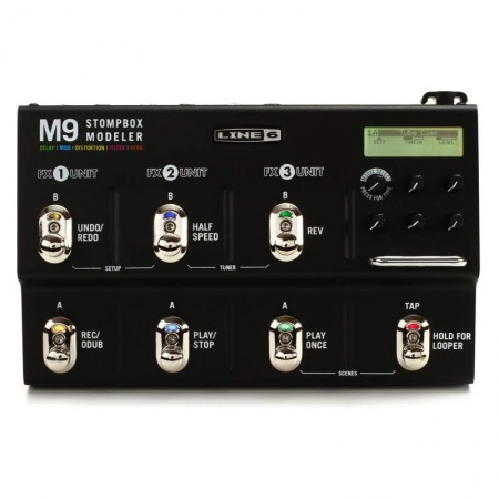 Line 6 M9 Stompbox Modeler Multi-Effects Processor