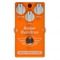 Mad Professor Amber Overdrive Factory Made