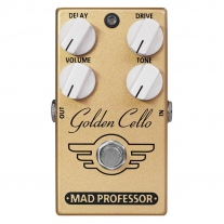 Mad Professor Golden Cello Overdrive/Delay Factory Made