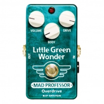 Mad Professor Little Green Wonder Overdrive Factory Made