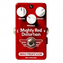 Mad Professor Mighty Red Distortion Factory Made